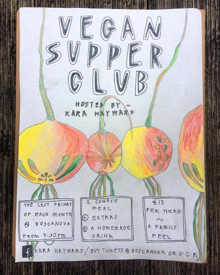 vegan supper club