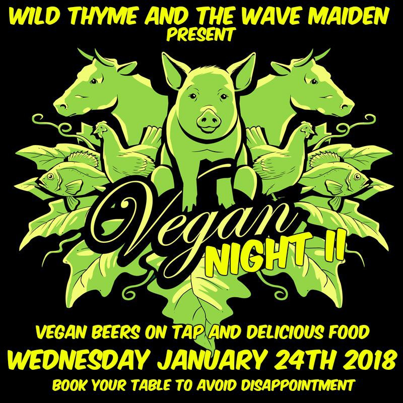 Vegan Night II @ The Wave Maiden
